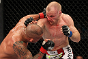 SYDNEY, AUSTRALIA - MARCH 03:  (R-L) Martin Kampmann punches Thiago Alves in a welterweight bout during the UFC on FX event at Allphones Arena on March 3, 2012 in Sydney, Australia.  (Photo by Josh Hedges/Zuffa LLC/Zuffa LLC via Getty Images) *** Local Caption *** Thiago Alves; Martin Kampmann