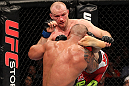 SYDNEY, AUSTRALIA - MARCH 03:  (L-R) Martin Kampmann kicks Thiago Alves in a welterweight bout during the UFC on FX event at Allphones Arena on March 3, 2012 in Sydney, Australia.  (Photo by Josh Hedges/Zuffa LLC/Zuffa LLC via Getty Images) *** Local Caption *** Thiago Alves; Martin Kampmann