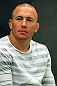 STOCKHOLM, SWEDEN - APRIL 11:  UFC Welterweight Champion Georges St-Pierre of Canada attends the UFC open workouts at Pancrase Gym on April 11, 2012 in Stockholm, Sweden.  (Photo by Josh Hedges/Zuffa LLC/Zuffa LLC via Getty Images)
