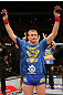 STOCKHOLM, SWEDEN - APRIL 14: Alexander Gustafsson is declared the winner in his fight against Thiago Silva at the UFC on Fuel TV event at Ericsson Globe on April 14, 2012 in Stockholm, Sweden. (Photo by Josh Hedges/Zuffa LLC/Zuffa LLC via Getty Images)