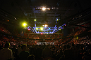 STOCKHOLM, SWEDEN - APRIL 14:  A general view of the arena during the UFC on Fuel TV event at Ericsson Globe on April 14, 2012 in Stockholm, Sweden.  (Photo by Josh Hedges/Zuffa LLC/Zuffa LLC via Getty Images)