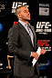 ATLANTA, GA - APRIL 18:  UFC host Jon Anik converses with the media prior to the press conference for the UFC 145 bout between Jon Jones and Rashad Evans at Park Tavern on April 18, 2012 in Atlanta, Georgia.  (Photo by Kevin C. Cox/Zuffa LLC/Zuffa LLC via Getty Images)
