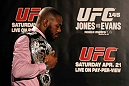 ATLANTA, GA - APRIL 18:  Jon Jones stands with his Light Heavyweight Championship belt during the press conference for his UFC 145 bout against Rashad Evans at Park Tavern on April 18, 2012 in Atlanta, Georgia.  (Photo by Kevin C. Cox/Zuffa LLC/Zuffa LLC via Getty Images)