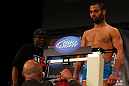 ATLANTA, GA - APRIL 20:  Lightweight fighter John Makdessi weighs in for his bout against Anthony Njokuani during the UFC 145 official weigh in at Fox Theatre on April 20, 2012 in Atlanta, Georgia.  (Photo by Al Bello/Zuffa LLC/Zuffa LLC via Getty Images)