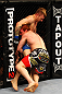 ATLANTA, GA - APRIL 21:  Mark Bocek (R) grapples with John Alessio during their lightweight bout for UFC 145 at Philips Arena on April 21, 2012 in Atlanta, Georgia.  (Photo by Al Bello/Zuffa LLC/Zuffa LLC via Getty Images)