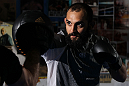 NEW YORK, NY - MAY 02:  Johny Hendricks works out for the fans and media during the UFC on FOX open workouts at Church Street Boxing Gym on May 2, 2012 in New York City.  (Photo by Josh Hedges/Zuffa LLC/Zuffa LLC via Getty Images)