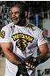 NEW YORK, NY - MAY 02:  Rousimar Palhares works out for the fans and media during the UFC on FOX open workouts at Church Street Boxing Gym on May 2, 2012 in New York City.  (Photo by Josh Hedges/Zuffa LLC/Zuffa LLC via Getty Images)