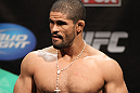 EAST RUTHERFORD, NJ - MAY 04:  Rousimar Palhares weighs in during the UFC on FOX official weigh in at Izod Center on May 4, 2012 in East Rutherford, New Jersey.  (Photo by Josh Hedges/Zuffa LLC/Zuffa LLC via Getty Images)