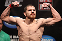 EAST RUTHERFORD, NJ - MAY 04:  Jim Miller weighs in during the UFC on FOX official weigh in at Izod Center on May 4, 2012 in East Rutherford, New Jersey.  (Photo by Josh Hedges/Zuffa LLC/Zuffa LLC via Getty Images)