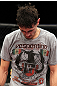 EAST RUTHERFORD, NJ - MAY 05:  Pablo Garza reacts after being defeated by Dennis Bermudez in thier Bantamweight bout at Izod Center on May 5, 2012 in East Rutherford, New Jersey.  (Photo by Josh Hedges/Zuffa LLC/Zuffa LLC via Getty Images)