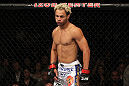 EAST RUTHERFORD, NJ - MAY 05:  Josh Koscheck looks on against Johny Hendricks during thier Welterweight bout at Izod Center on May 5, 2012 in East Rutherford, New Jersey.  (Photo by Josh Hedges/Zuffa LLC/Zuffa LLC via Getty Images)