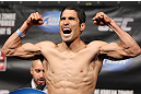 FAIRFAX, VA - MAY 14:  Alex Soto makes weight during the UFC on Fuel TV official weigh in at Patriot Center on May 14, 2012 in Fairfax, Virginia.  (Photo by Josh Hedges/Zuffa LLC/Zuffa LLC via Getty Images)