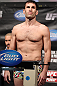 FAIRFAX, VA - MAY 14:  Amir Sadollah makes weight during the UFC on Fuel TV official weigh in at Patriot Center on May 14, 2012 in Fairfax, Virginia.  (Photo by Josh Hedges/Zuffa LLC/Zuffa LLC via Getty Images)