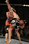 LAS VEGAS, NV - MAY 26:  CB Dollaway slams Jason Miller (pictured) during a middleweight bout at UFC 146 at MGM Grand Garden Arena on May 26, 2012 in Las Vegas, Nevada.  (Photo by Donald Miralle/Zuffa LLC/Zuffa LLC via Getty Images)