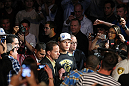 LAS VEGAS, NV - MAY 26:  Junior dos Santos enters the arena before his bout against Frank Mir at UFC 146 at MGM Grand Garden Arena on May 26, 2012 in Las Vegas, Nevada. (Photo by Donald Miralle/Zuffa LLC/Zuffa LLC via Getty Images)