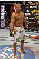 LAS VEGAS, NV - MAY 26:  Junior dos Santos stands in the Octagon before his bout against Frank Mir at UFC 146 at MGM Grand Garden Arena on May 26, 2012 in Las Vegas, Nevada. (Photo by Donald Miralle/Zuffa LLC/Zuffa LLC via Getty Images)