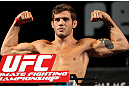 LAS VEGAS, NV - MAY 31:   John Cofer makes weight during The Ultimate Fighter Live weigh in at the Palms Casino Resort on May 31, 2012 in Las Vegas, Nevada.  (Photo by Josh Hedges/Zuffa LLC/Zuffa LLC via Getty Images)  *** Local Caption *** John Cofer