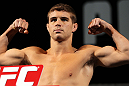 LAS VEGAS, NV - MAY 31:   Al Iaquinta makes weight during The Ultimate Fighter Live weigh in at the Palms Casino Resort on May 31, 2012 in Las Vegas, Nevada.  (Photo by Josh Hedges/Zuffa LLC/Zuffa LLC via Getty Images)  *** Local Caption *** Al Iaquinta