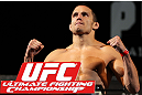 LAS VEGAS, NV - MAY 31:   Jake Ellenberger makes weight during The Ultimate Fighter Live weigh in at the Palms Casino Resort on May 31, 2012 in Las Vegas, Nevada.  (Photo by Josh Hedges/Zuffa LLC/Zuffa LLC via Getty Images)  *** Local Caption *** Jake Ellenberger