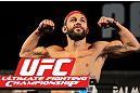 LAS VEGAS, NV - MAY 31:   Sam Sicilia makes weight during The Ultimate Fighter Live weigh in at the Palms Casino Resort on May 31, 2012 in Las Vegas, Nevada.  (Photo by Josh Hedges/Zuffa LLC/Zuffa LLC via Getty Images)  *** Local Caption *** Sam Sicilia