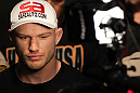 LAS VEGAS, NV - JUNE 01:   Martin Kampmann walks to the Octagon during The Ultimate Fighter Live Finale at the Pearl Theater at the Palms Casino Resort on June 1, 2012 in Las Vegas, Nevada.  (Photo by Josh Hedges/Zuffa LLC/Zuffa LLC via Getty Images)  *** Local Caption *** Martin Kampmann