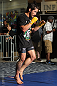 SUNRISE, FL - JUNE 06:   Ian McCall works out for fans and media during the UFC open workouts at Sawgrass Mills Mall on June 6, 2012 in Sunrise, Florida.  (Photo by Josh Hedges/Zuffa LLC/Zuffa LLC via Getty Images)