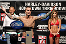 SUNRISE, FL - JUNE 07:   Eddie Wineland makes weight during the UFC on FX 3 official weigh in at Bank Atlantic Center on June 7, 2012 in Sunrise, Florida.  (Photo by Josh Hedges/Zuffa LLC/Zuffa LLC via Getty Images)