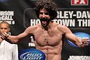 SUNRISE, FL - JUNE 07:   Charlie Brenneman makes weight during the UFC on FX 3 official weigh in at Bank Atlantic Center on June 7, 2012 in Sunrise, Florida.  (Photo by Josh Hedges/Zuffa LLC/Zuffa LLC via Getty Images)