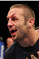 SUNRISE, FL - JUNE 08:   Eddie Wineland stands in the Octagon after knocking out Scott Jorgensen in a Bantamweight bout during the UFC on FX 3 event at Bank Atlantic Center on June 8, 2012 in Sunrise, Florida.  (Photo by Josh Hedges/Zuffa LLC/Zuffa LLC via Getty Images)