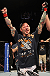 SUNRISE, FL - JUNE 08:   Eddie Wineland is victorious over Scott Jorgensen by knockout in a Bantamweight bout during the UFC on FX 3 event at Bank Atlantic Center on June 8, 2012 in Sunrise, Florida.  (Photo by Josh Hedges/Zuffa LLC/Zuffa LLC via Getty Images)