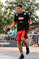 BELO HORIZONTE, BRAZIL - JUNE 20:   Cezar Ferreira works out for the fans and media during the UFC 147 open workouts at Praca da Estacao on June 20, 2012 in Belo Horizonte, Brazil.  (Photo by Josh Hedges/Zuffa LLC/Zuffa LLC via Getty Images)