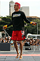 BELO HORIZONTE, BRAZIL - JUNE 20:   Godofredo Pepey works out for the fans and media during the UFC 147 open workouts at Praca da Estacao on June 20, 2012 in Belo Horizonte, Brazil.  (Photo by Josh Hedges/Zuffa LLC/Zuffa LLC via Getty Images)
