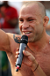 BELO HORIZONTE, BRAZIL - JUNE 20:   Wanderlei Silva works out for the fans and media during the UFC 147 open workouts at Praca da Estacao on June 20, 2012 in Belo Horizonte, Brazil.  (Photo by Josh Hedges/Zuffa LLC/Zuffa LLC via Getty Images)
