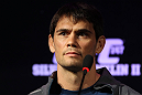 BELO HORIZONTE, BRAZIL - JUNE 21:   Rich Franklin attends the UFC 147 press conference at Ouro Minas Palace on June 21, 2012 in Belo Horizonte, Brazil.  (Photo by Josh Hedges/Zuffa LLC/Zuffa LLC via Getty Images)