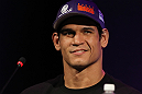 "BELO HORIZONTE, BRAZIL - JUNE 21:   Cezar ""Mutante"" Ferreira attends the UFC 147 press conference at Ouro Minas Palace on June 21, 2012 in Belo Horizonte, Brazil.  (Photo by Josh Hedges/Zuffa LLC/Zuffa LLC via Getty Images)"