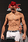 BELO HORIZONTE, BRAZIL - JUNE 22:   Godofredo Pepey makes weight during the UFC 147 weigh in at Estadio Jornalista Felipe Drummond on June 22, 2012 in Belo Horizonte, Brazil.  (Photo by Josh Hedges/Zuffa LLC/Zuffa LLC via Getty Images)