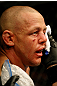 ATLANTIC CITY, NJ - JUNE 22: Ross Pearson is tended to during his featherweight bout against Cub Swanson (not pictured) during UFC on FX 4 at Revel Casino on June 22, 2012 in Atlantic City, New Jersey.  (Photo by Nick Laham/Zuffa LLC/Zuffa LLC)