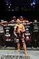 BELO HORIZONTE, BRAZIL - JUNE 23:   Wanderlei Silva stands in the Octagon before his bout against Rich Franklin at Estadio Jornalista Felipe Drummond on June 23, 2012 in Belo Horizonte, Brazil.  (Photo by Josh Hedges/Zuffa LLC/Zuffa LLC via Getty Images)