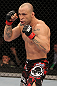 BELO HORIZONTE, BRAZIL - JUNE 23:   Wanderlei Silva stands in the Octagon during his UFC 147 catchweight bout against Rich Franklin at Estadio Jornalista Felipe Drummond on June 23, 2012 in Belo Horizonte, Brazil.  (Photo by Josh Hedges/Zuffa LLC/Zuffa LLC via Getty Images)