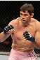 BELO HORIZONTE, BRAZIL - JUNE 23:   Rich Franklin stands in the Octagon during his UFC 147 catchweight bout against Wanderlei Silva at Estadio Jornalista Felipe Drummond on June 23, 2012 in Belo Horizonte, Brazil.  (Photo by Josh Hedges/Zuffa LLC/Zuffa LLC via Getty Images)