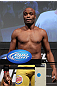 LAS VEGAS, NV - JULY 6:   Anderson Silva makes weight during the UFC 148 Weigh In at the Mandalay Bay Events Center on July 6, 2012 in Las Vegas, Nevada.  (Photo by Josh Hedges/Zuffa LLC/Zuffa LLC via Getty Images)