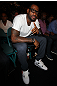 LAS VEGAS, NV - JULY 7:   LeBron James in attendance during UFC 148 inside MGM Grand Garden Arena on July 7, 2012 in Las Vegas, Nevada.  (Photo by Jeff Bottari/Zuffa LLC via Getty Images)  *** Local Caption *** LeBron James