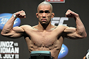 SAN JOSE, CA - JULY 10:   Issei Tamura makes weight during the UFC on Fuel TV weigh in at HP Pavilion on July 10, 2012 in San Jose, California.  (Photo by Josh Hedges/Zuffa LLC/Zuffa LLC via Getty Images)