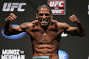 SAN JOSE, CA - JULY 10:   Marcelo Guimaraes makes weight during the UFC on Fuel TV weigh in at HP Pavilion on July 10, 2012 in San Jose, California.  (Photo by Josh Hedges/Zuffa LLC/Zuffa LLC via Getty Images)