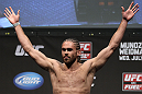 SAN JOSE, CA - JULY 10:   Andrew Craig makes weight during the UFC on Fuel TV weigh in at HP Pavilion on July 10, 2012 in San Jose, California.  (Photo by Josh Hedges/Zuffa LLC/Zuffa LLC via Getty Images)