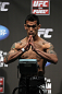 SAN JOSE, CA - JULY 10:   Vaughn Lee makes weight during the UFC on Fuel TV weigh in at HP Pavilion on July 10, 2012 in San Jose, California.  (Photo by Josh Hedges/Zuffa LLC/Zuffa LLC via Getty Images)