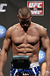 SAN JOSE, CA - JULY 10:   Karlos Vemola makes weight during the UFC on Fuel TV weigh in at HP Pavilion on July 10, 2012 in San Jose, California.  (Photo by Josh Hedges/Zuffa LLC/Zuffa LLC via Getty Images)