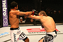 SAN JOSE, CA - JULY 11:   (R-L) Andrew Craig punches Rafael Natal during their middleweight bout at HP Pavilion on July 11, 2012 in San Jose, California.  (Photo by Ezra Shaw/Zuffa LLC/Zuffa LLC via Getty Images)  *** Local Caption *** Rafael Natal; Andrew Craig