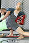 CALGARY, CANADA - JULY 18: Court McGee grapples his workout partner in front of the fans and media during the UFC 149 Open Workouts inside Champion's Creed Gym on July 18, 2012 in Calgary, Alberta.  (Photo by Jeff Bottari/Zuffa LLC/Zuffa LLC via Getty Images)