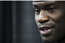 CALGARY, CANADA - JULY 18:  Cheick Kongo speaks to the media during the UFC 149 Open Workouts inside Champion's Creed Gym on July 18, 2012 in Calgary, Alberta.  (Photo by Jeff Bottari/Zuffa LLC/Zuffa LLC via Getty Images)